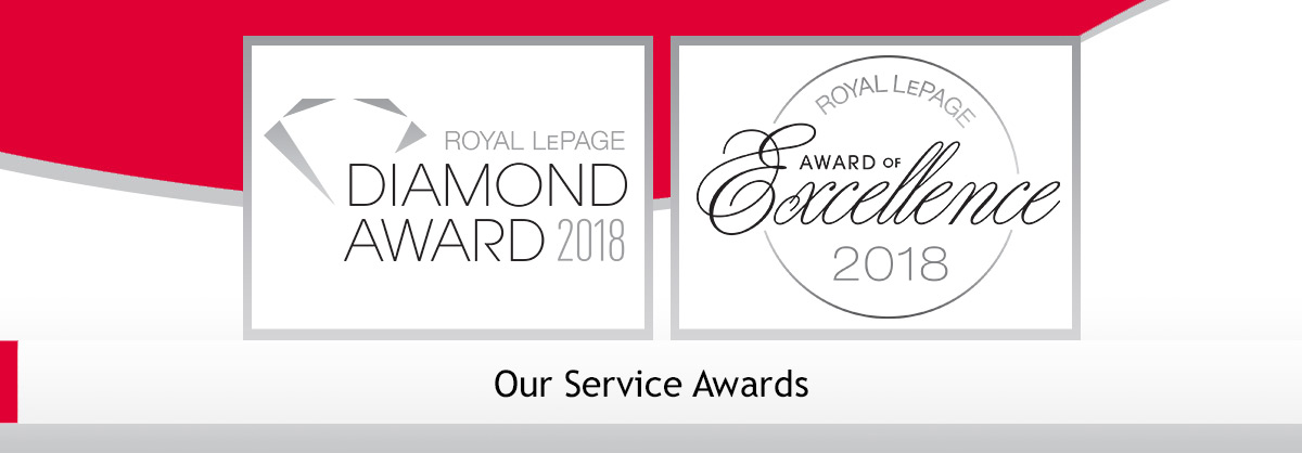 Royal LePage Award of Excellence 2018