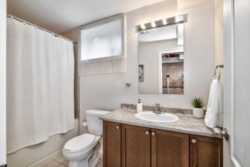 Basement Level 4-Piece Bathroom
