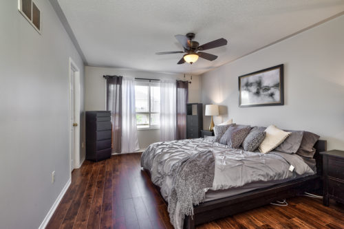 Spacious Master Bedroom with Walk-In Closet, Ensuite